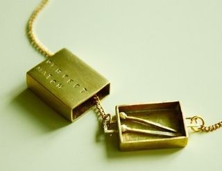A perfect match necklace