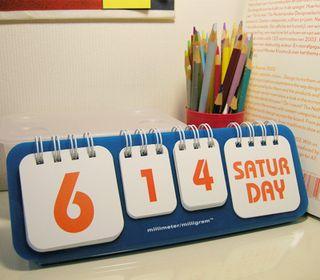Ping Pong Calendar