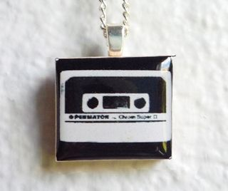 Mixtape Tile Pendant